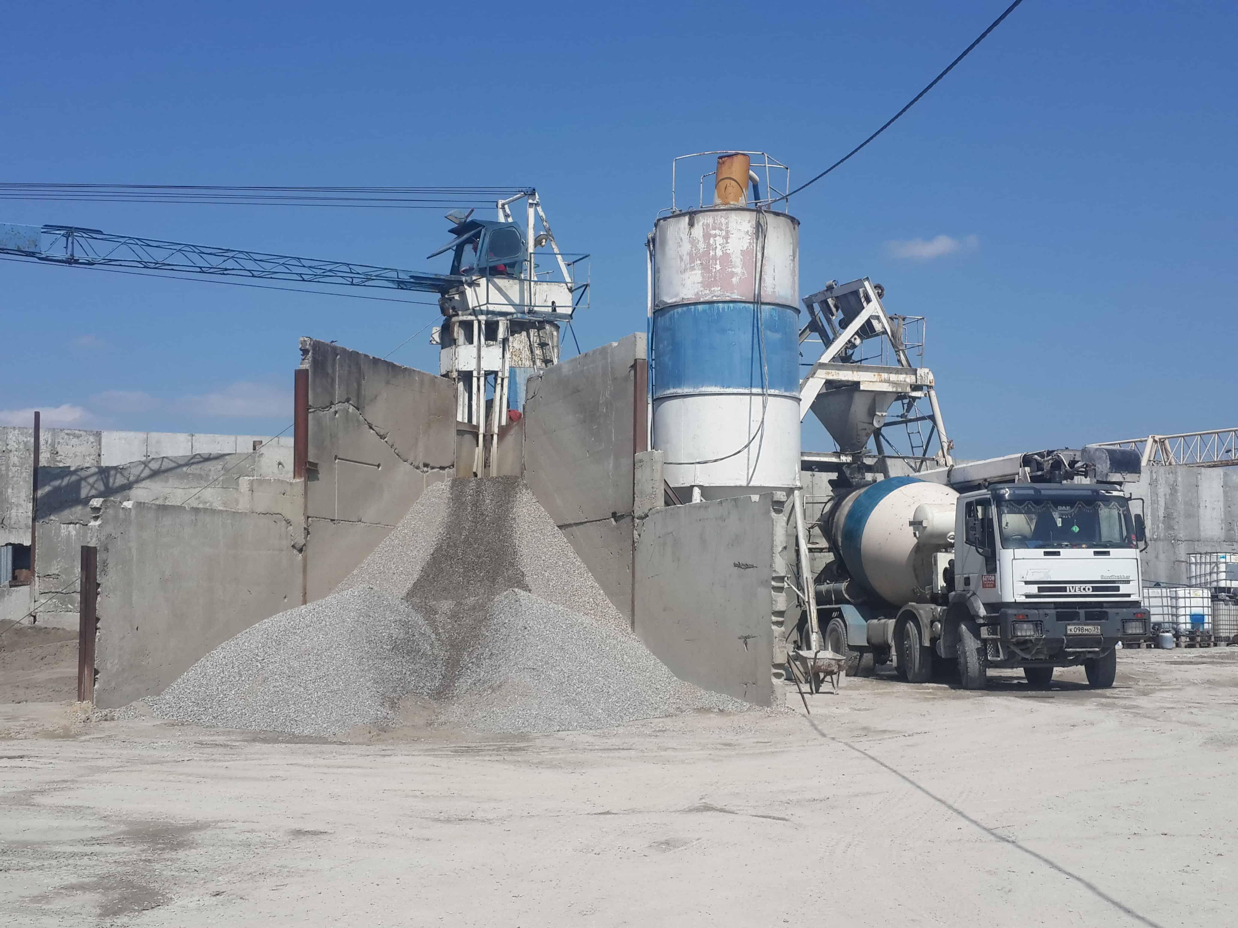 Суперпрочный бетон и ЖБИ, растворы в Калининграде